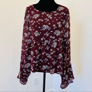 Aeropostale women's tunic blouse size XL